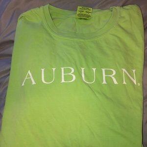 Comfort colors Auburn shirt